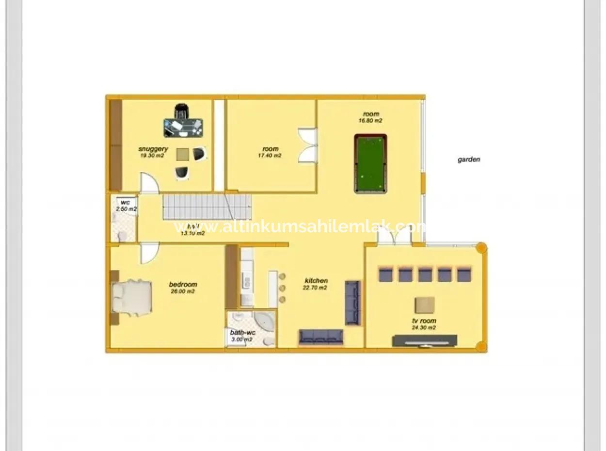 6 Zimmer Wohnung Zum Verkauf İn Didim