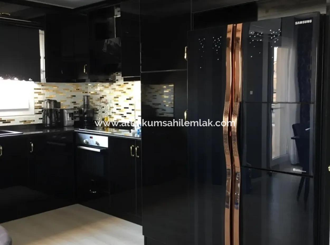 Three Beds Pent House For Sale In Altınkum Didim