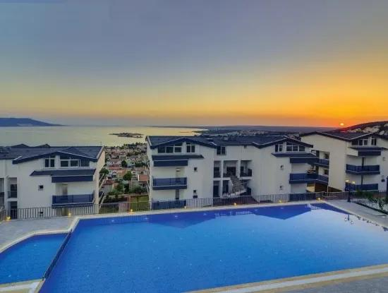 For Sale Stunning Three Beds Sea View Penthouse In Akbük Didim