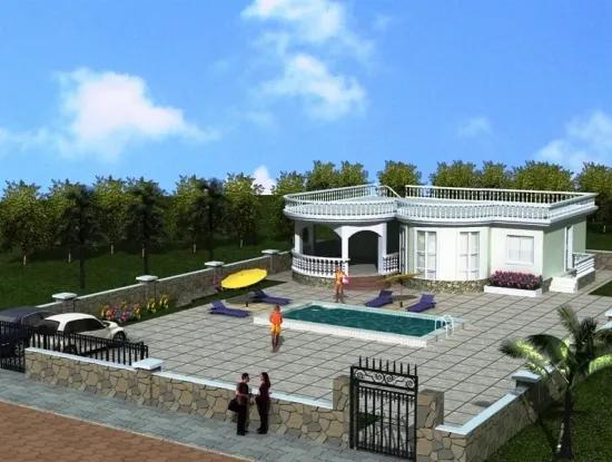 For Sale Off Plan Bungalow In Green Hill Didim