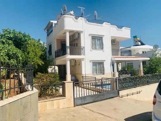 Didim Akbuk Detached Villa Furnished With Pool In Ingilzden 3 In 1 Urgent Sale