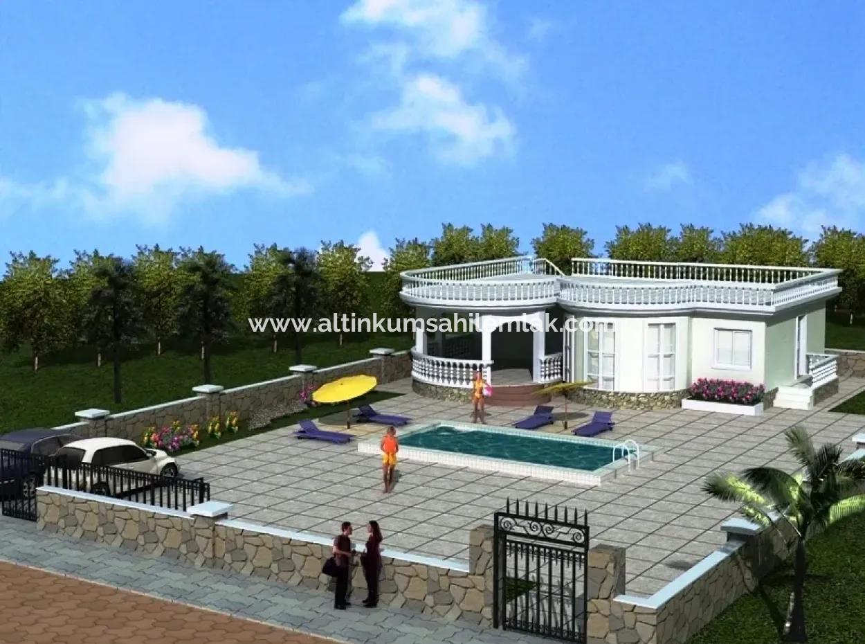 Didim Yeşiltepede Projeden Satılık Tek Katlı Villa, Ev