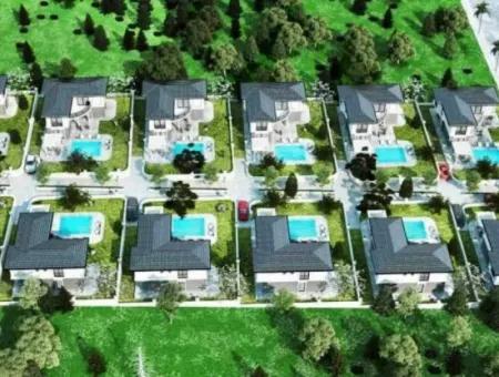Didim'de Projeden Satılık Deniz Manzaralı Lüks Villalar