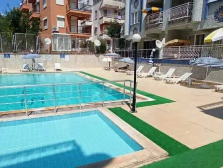 Didim Altınkum Çamlık Mahallesi Satılık Havuzlu Geniş Dubleks