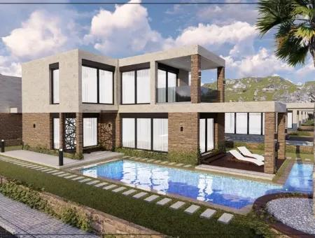 Didim Yeşiltepede Projeden Satılık Lüks Müstakil Villa
