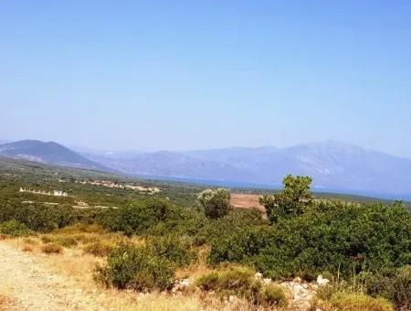 Didim Bozseki'De Satılık Göl Manzaralı Arsalar