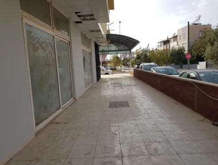 Didim Ege Cadesi Üzerinde Acil Satılık 500M2 Depolu Köşe Dükkan