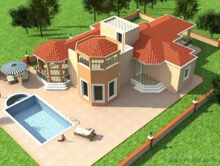 Didim'De Projeden Satılık Ultra Lüks Villalar
