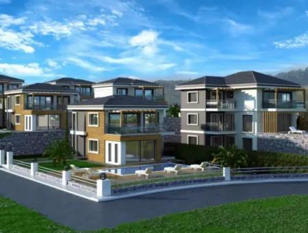 Didim Akbük Satılık Deniz Manzaralı Yazlık Villalar