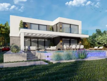 Didimde Projeden Satılık Anahtar Teslim Özel Villa